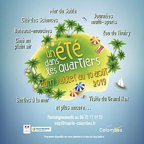Voir l'evenement : Un été dans les quartiers