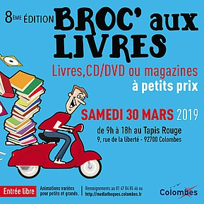 Voir l'evenement : Broc'aux livres
