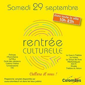 Voir l'evenement : Culture et vous !
