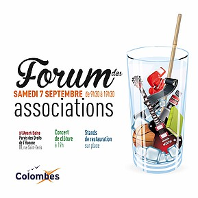 Voir l'evenement : Forum des Associations