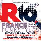 Voir l'evenement : Championnat de France R16 de « Funkstyles »