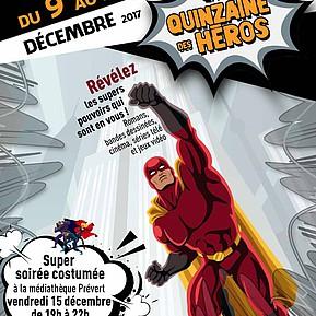 Voir l'evenement : La Quinzaine des Super-Héros
