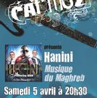 Voir l'evenement : Hanini - soirée maghrébine