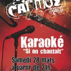 Voir l'evenement : Si on chantait au Caf'Muz ?