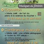 Voir l'evenement : Cycle Musiques au féminin au Conservatoire de Colombes