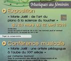 Voir l'evenement : Cycle Musiques au f�minin au Conservatoire de Colombes