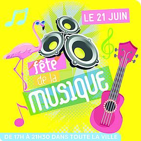 Voir l'evenement : Fête de la musique : des notes dans toute la ville !