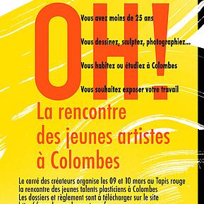 Voir l'evenement : Appel à candidature jeunes artistes