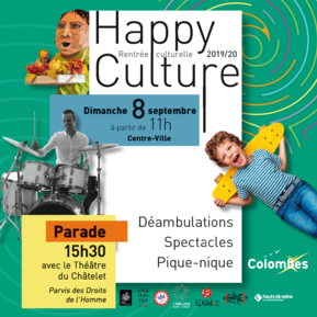 Voir l'evenement : Happy Culture