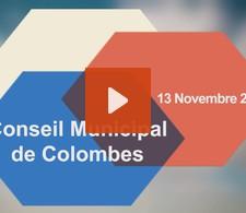 Visionnez la video : Conseil municipal du 13 novembre 2014