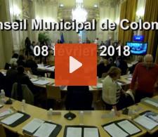 Visionnez la video : Conseil Municipal du mois de février 2018